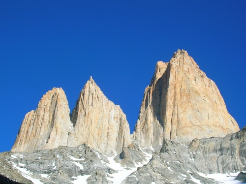 North and Central Towers of Paine